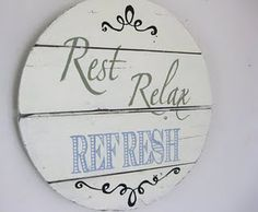 Super easy tutorial on sign making. Check out her really great signs for inspiration.