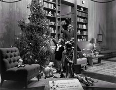 marshall field's christmas window display | 1940s | #vintage #1940s #christmas