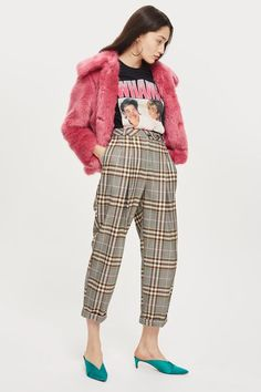 Checked Mensy Trousers