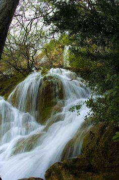Nacimiento del rio Cuervo Cuenca