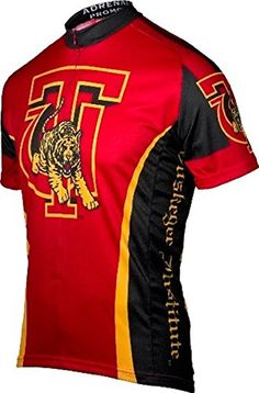 NCAA Mens Adrenaline Promotions Tuskegee University Cycling Jersey XLarge *** Check out the image by visiting the link.