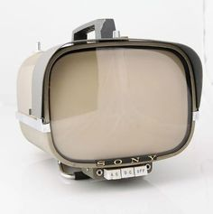 To know more about SONY Vintage Sony Portable Transistor TV, visit Sumally, a social network that gathers together all the wanted things in the world! Featuring over other SONY items too! Tvs, Vintage Television, Television Set, Vintage Tv, Retro Design, Vintage Designs, Radios, Hifi Video, Alter Computer