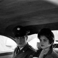 Elvis on his way to the airport in march 2 1960 with Priscilla Beaulieu ( his future wife ) Elvis Presley Memories, Elvis Presley Family, Elvis And Priscilla, Priscilla Presley, Army Day, Young Elvis, Graceland, Rock N Roll, Finals