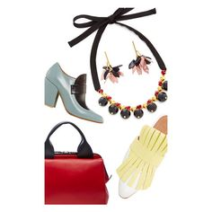 Marni Capsule Pre Fall 2016 ❤ liked on Polyvore featuring shoes, mary-jane shoes, polka dot shoes, holiday shoes, leather loafers and floral print shoes