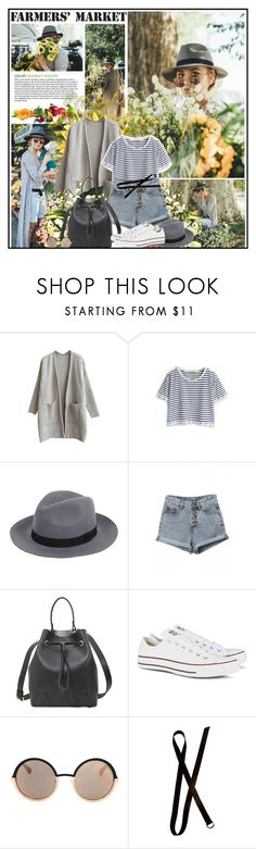 """Farmer´s Market"" by katik27 ❤ liked on Polyvore featuring Furla, Converse, Marc by Marc Jacobs, Dries Van Noten, vintage, women's clothing, women, female, woman and misses"