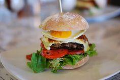 Aussie Burger with Egg