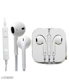 Wired Headphones & Earphones Modern Unique Solid Wired Earphone Product Type : Wired Earphone Material : Plastic Size : Free Size Type : Wired Audio Jack : 3.5 mm With Microphone: Yes Description : It Has 1 Piece Of Wired Earphone With Mic Country of Origin: India Sizes Available: Free Size   Catalog Rating: ★3.9 (962)  Catalog Name: Modern Unique Solid Wired Earphone Vol 2 CatalogID_765960 C97-SC1375 Code: 481-5180661-192