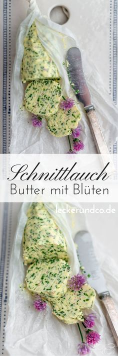 Schnittlauchbutter mit Blüten Oreo Milkshake, Milkshake Recipes, Vegetarian Lifestyle, Home Food, Outdoor Cooking, Diy Food, Easy Peasy, Grilling Recipes, Clean Eating