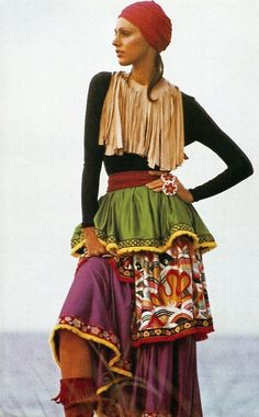 Love the skirt. Why not a little color in our lives. Does over fifty mean black or neutrals?.