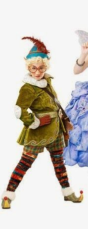 I'd like the tights, shorts, and hat to be closer in color to the jacket - Shrek the Musical Costumes: Elf