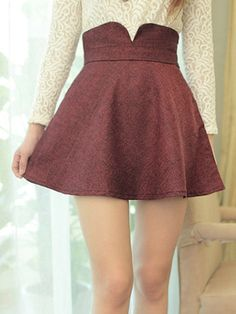 girly skirt 0449