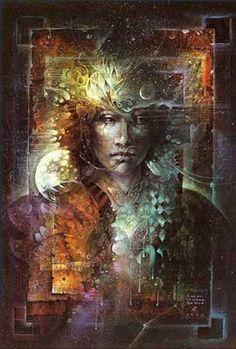 Susan Seddon Boulet - Dream Oracle   Susan Seddon Boulet (1941-1997) @ www.turningpointgallery.com  More Susan Boulet @ http://groups.google.com/group/FantasyMagie & http://groups.yahoo.com/group/fantasy_forum &   http://groups.yahoo.com/group/A1-Fantasy-Art   https://www.facebook.com/pages/Susan-Seddon-boulet/47280994189