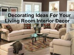 Decor your living room with different color theme that you love with using exclusive furniture and designer home fabrics from online home decor store.