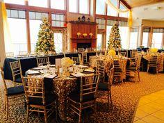 Beautiful Holiday Season Wedding at Blackberry Ridge Golf Club - Sartell, MN.