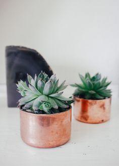 Julia Kostreva Mini Copper Planter