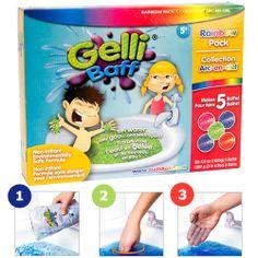 GELLI BAFF RAINBOW 5-PACK