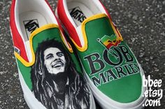 Bob Marley Shoes <3
