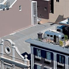 The Airstreams Penthouse Park @ The Grand Daddy Hotel, Capetown, South Africa