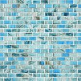 Found it at Wayfair - Glass Expressions Frosted Micro Blocks Accent Tile in Azure $11.99
