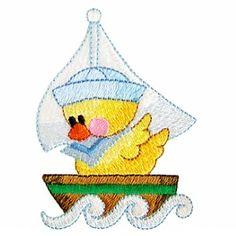 ch104 - Ducky Machine Embroidery Design