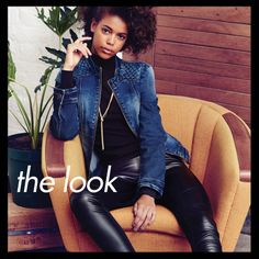 Shop online at www.truworths.co.za Leather Pants, How To Wear, Shopping, Fashion, Moda, Fashion Styles, Leather Joggers, Leather Leggings, Fashion Illustrations