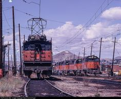 RailPictures.Net Photo: Milw Rd E45 Milwaukee Road GE Boxcab at Butte, Montana by Steve Schmollinger