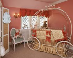 so cute cinderella theme for baby room..I don't have a girl but if I did I would totally create this for her.