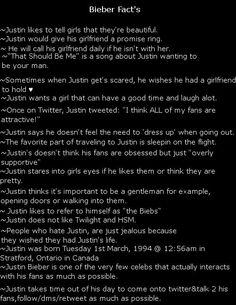 Bieber fact's 1 by spyroexpert ...