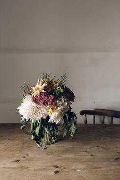 Florals | Jet & Indigo
