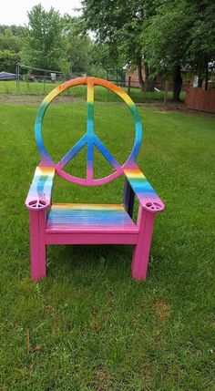 665 best funky chairs images colorful chairs painted chairs rh pinterest com