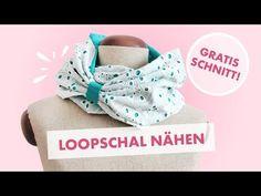 freebie Moby SCHNÜR*Schal Nähanleitung mit Schnittmuster DIY - YouTube