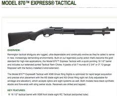 Remmington Model 870 Tactical