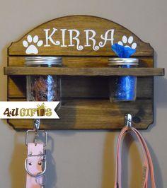 Hey, I found this really awesome Etsy listing at https://www.etsy.com/listing/234691763/dog-leash-holder-with-mason-jar-treat