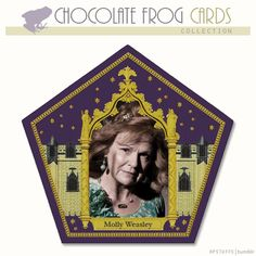 CHOCOLATE FROG CARDS, MOLLY WEASLEY