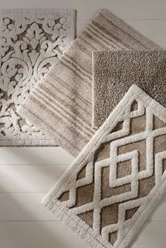 Fall in love with linen. All-natural fibers are delectable underfoot.