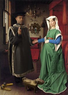 E2 - KLEINVELD & JULIEN | Ode to Van Eyck's Arnolfini Marriage (2012) | Available for Sale | Artsy