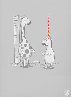 unicorn & giraffe. two of my favorite things together!!!