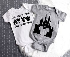 Excited to share the latest addition to my shop: Disney Shirts for Kids / Disney Onesie / Disney Onesie Boy / Disney Onesie Girl / Disney Vacation Two Pack / Baby Disney Onesie / Baby Gift Disney Baby Onesies, Boy Disney Shirts, Baby Shirts, Disney Girls, Baby Disney, Disney Baby Clothes Boy, Babies Clothes, Babies Stuff, Disney With A Toddler
