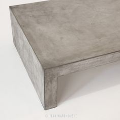Blok Concrete Waterfall Coffee Table - Coffee Tables - Accessories