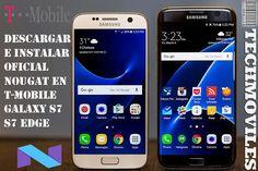 Descargar e instalar Oficial Nougat T-Mobile Galaxy S7 S7 Edge