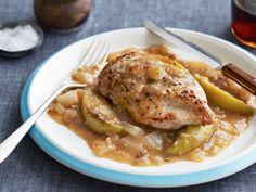 Apple Cider Chicken recipe from Sunny Anderson via Food Network