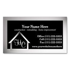 Construction business card pinterest construction business cards construction business card pinterest construction business cards construction business and business cards friedricerecipe Images