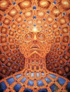 Hallucinogenic Paintings - Start tripping with Alex Grey, a most revolutionary artist. Through his series of hallucinogenic life-size paintings, we discover a whole new world...