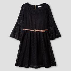 Girls' Crochet Dress