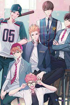 Otome game Loved by King Bs - Day 7 Anime Siblings, Anime Couples Manga, Manga Anime, Anime Art, Handsome Anime Guys, Cute Anime Guys, Anime Love, Fanarts Anime, Anime Characters