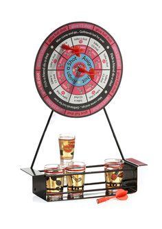jay companies working girls drinking darts game