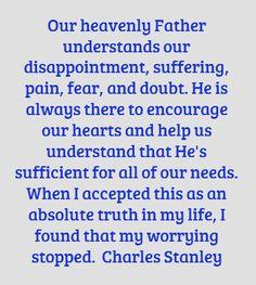 †~ Charles Stanley ~†  help me find strength