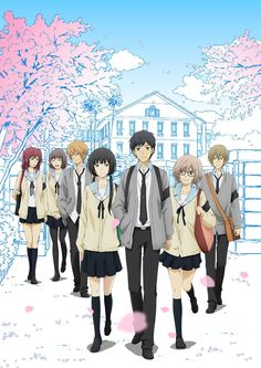 "Crunchyroll - ""ReLIFE"" Anime So amazingly good! Anime Kawaii, Relife Anime, Anime Art, Hen Anime, Cosplay Anime, Anime Love, Otaku, Anime Watch, Anime Kunst"