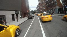 Just Another Day In A NYC Bike Lane . idk why I watched and then pinned this even though I just Knew it was going to be a disaster Rando, Best Funny Videos, Funny Facts, Funny Gifs, Offroad, Touring, Simple, Haha, Street View