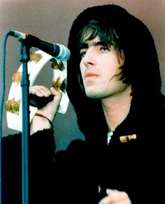 Liam Gallagher of Oasis.